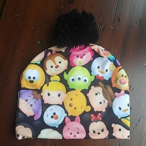 Girls Disney Tsum Tsum beanie hat